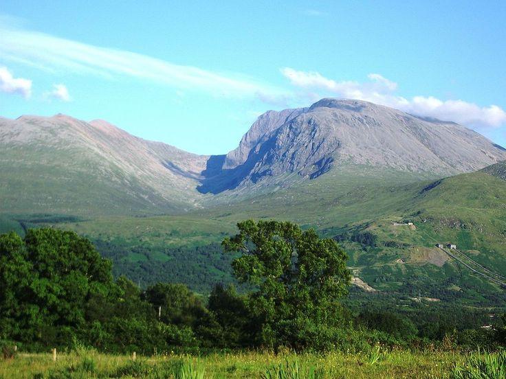 Ben Nevis, na Escócia, é o ponto mais alto das Ilhas Britânicas.