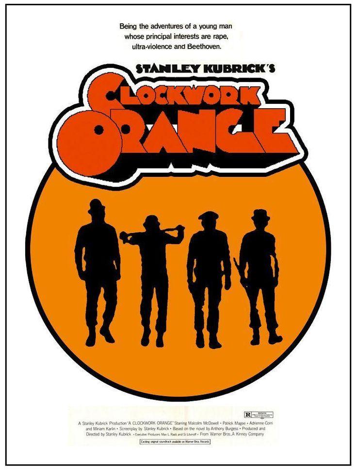 La naranja mecánica (1971) DVD   clasicofilm / cine online