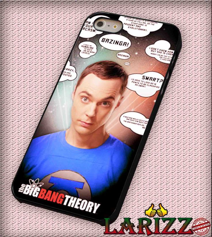 """Big Bang Theory Quote for iPhone 4/4s, iPhone 5/5S/5C/6/6 , Samsung S3/S4/S5, Samsung Note 3/4 Case """"007"""""""