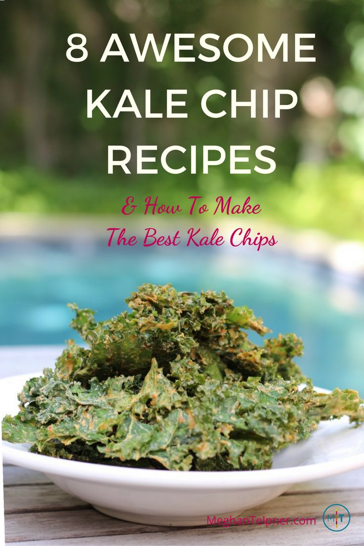 8 awesome kale chip recipes + how to make the very best kale chips