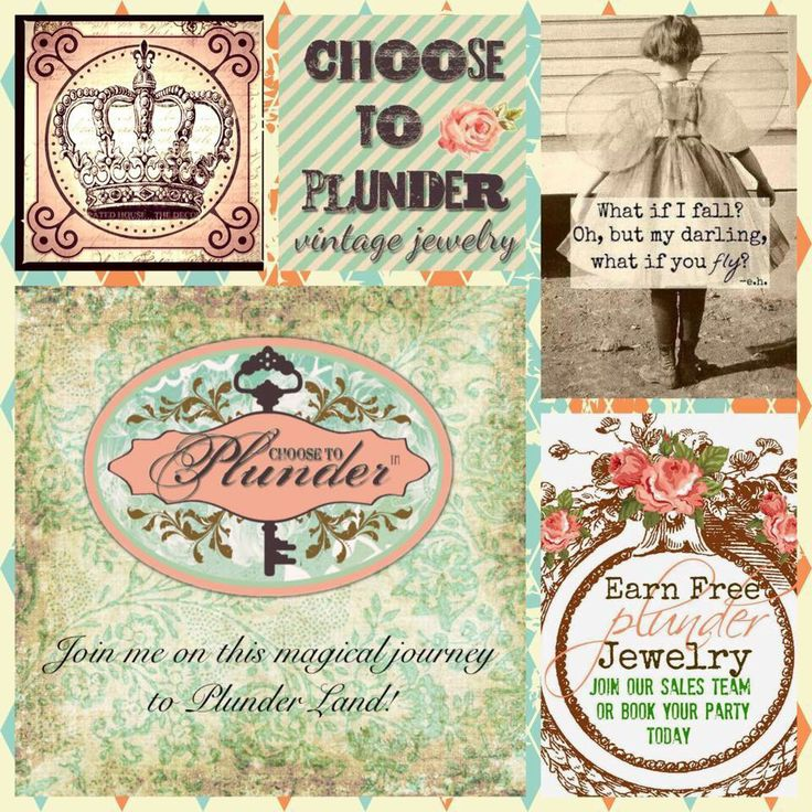 Plunder Jewelry Company Plunderdesign.com/Shawna