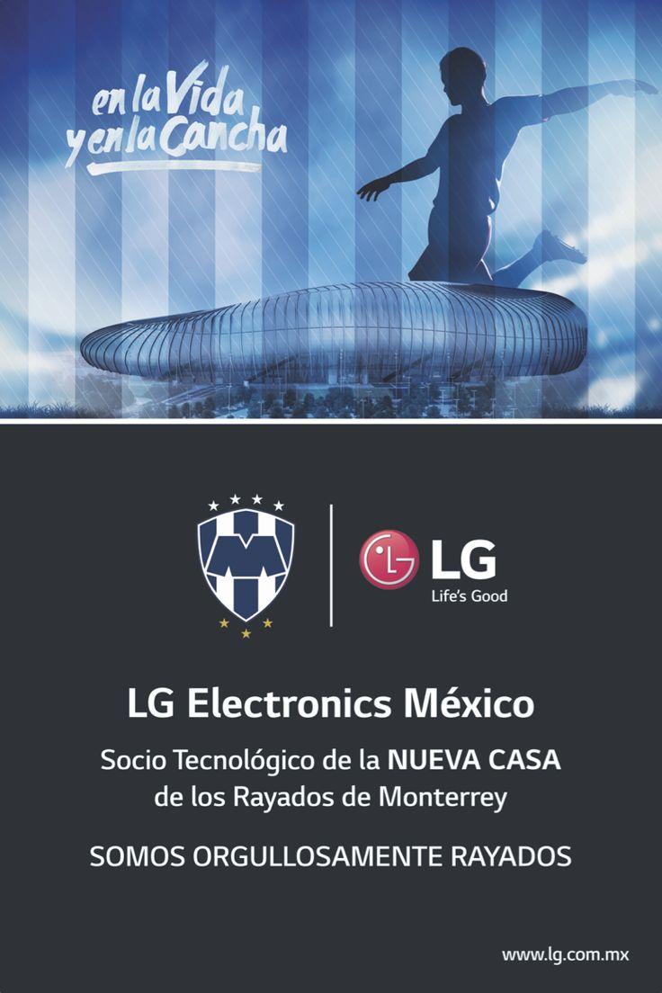 LG Electronics socio tecnológico de los Rayados - http://webadictos.com/2015/07/31/lg-electronics-socio-tecnologico-de-los-rayados/?utm_source=PN&utm_medium=Pinterest&utm_campaign=PN%2Bposts