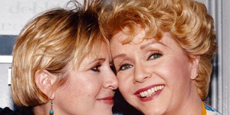 It's calledtakotsubo cardiomyopathy –broken heart syndrome. RIP Debbie and Carrie.