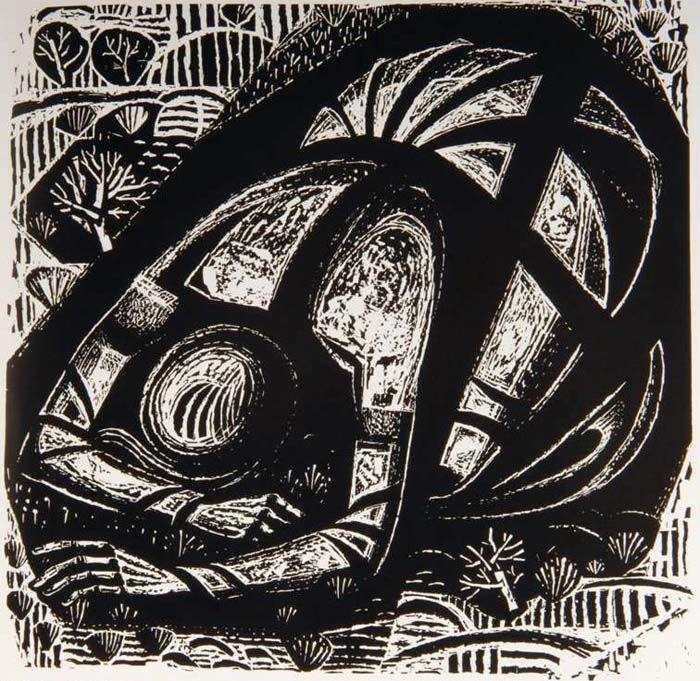 """Κούραση 1964 Δημοτική Πινακοθήκη Καλαμάτας """"Α. Τάσσος"""" 69x70 εκ."""