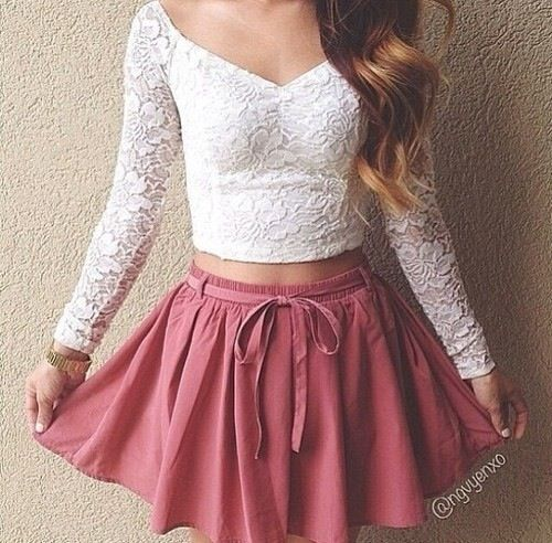 Lace is brilliant for the summer because it looks likes you've put effort into ur appearance on those lazy summer days