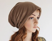 Ultra Soft Knit Autumn and Winter Theme Slouchy Beanie