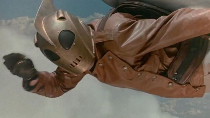 Disney's 1991 superhero movie The Rocketeer never stood a chance. It has some nice retro features, though. And the film, based on cartoonist Dave Stevens' creation, has its fans.