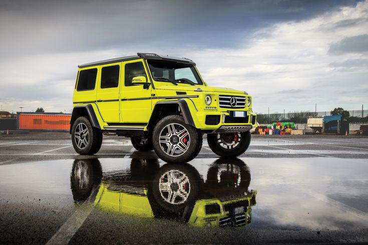 Forget About The New G-Class; The Mercedes G500 4×4² Is The One You Want - carscoops.com
