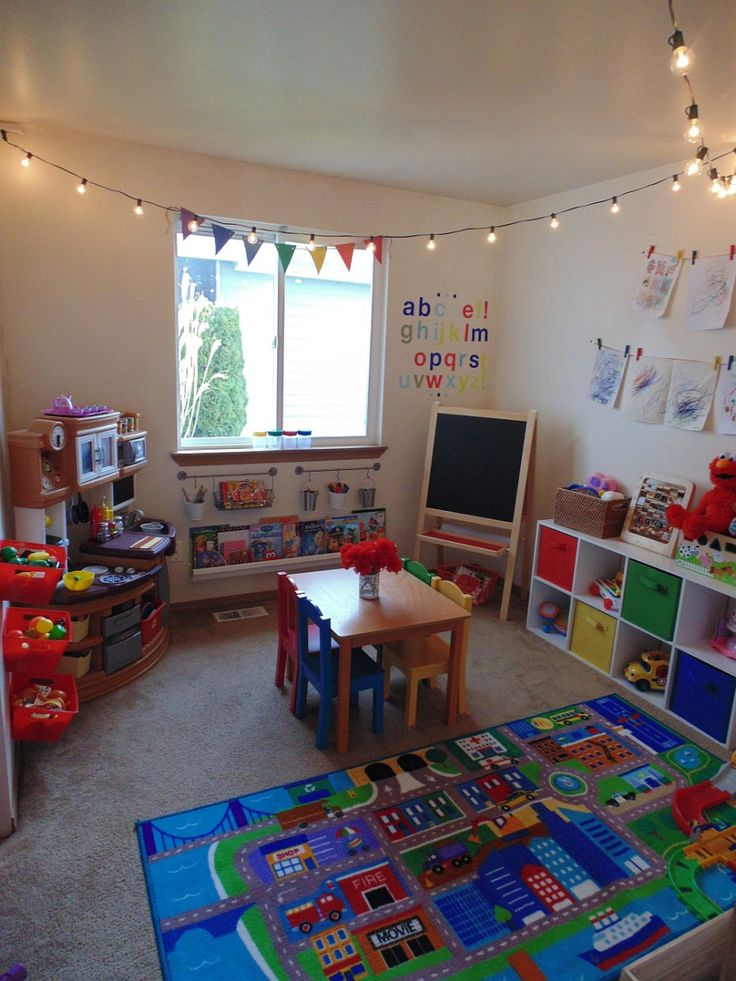 Etonnant Playroom Makeover On A Budget
