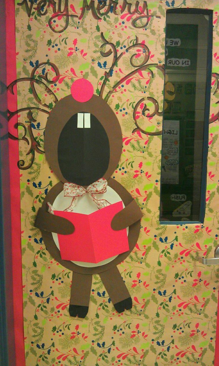 Holiday Classroom Door Winter In The Classroom Pinterest