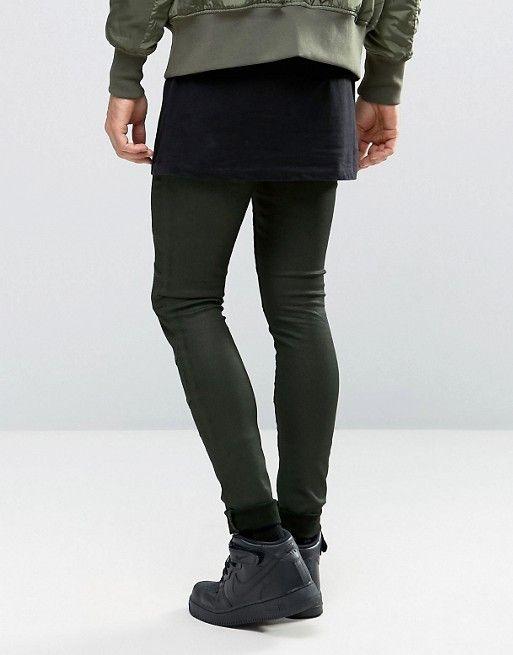 http://www.asos.fr/asos/asos-jean-extreme-skinny-avec-empiecements-facon-motard-kaki/prd/6778090?CTARef=Saved Items Image