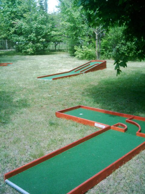 portable mini golf - Google Search