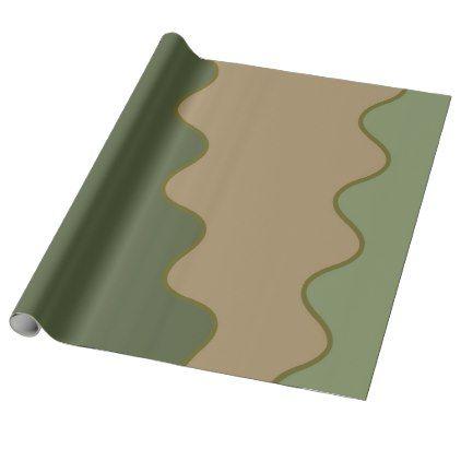 Camo Wrapping Paper - craft supplies diy custom design supply special