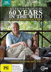 Attenborough - 60 Years In The Wild DVD. $39.99