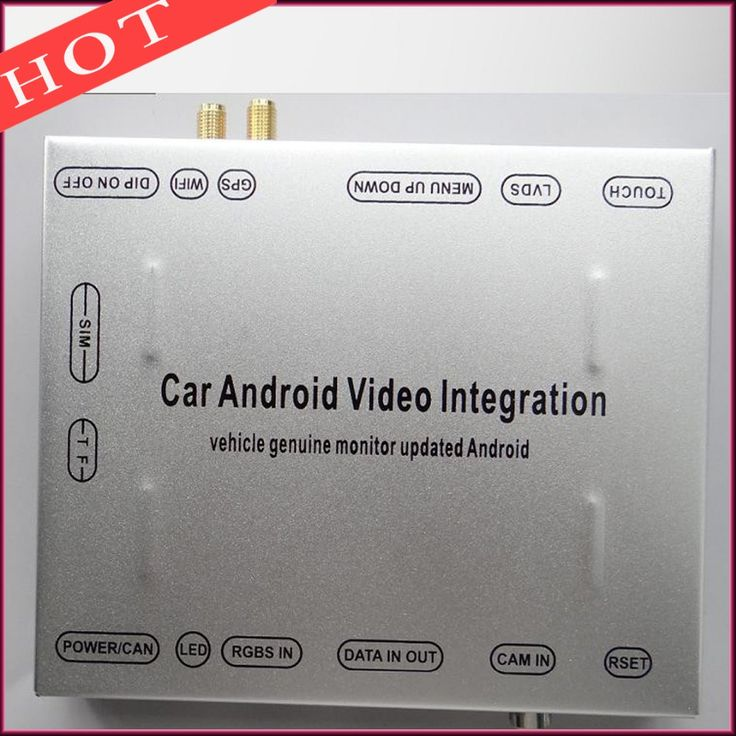 Car Android Video Interface For After 2015 Land Rover Discovery  Evoque XF XJ XE Android Navigation GPS 4.4.4 system