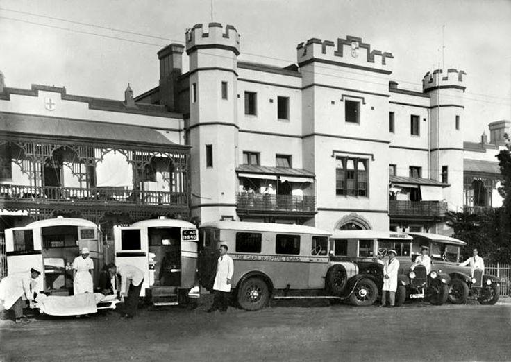 Somerset Hospital, South Africa c1940.