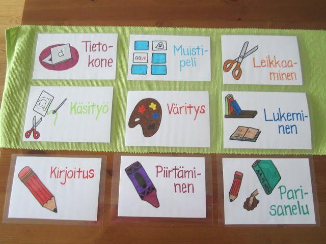 Open ideat: Lukemaan ja kirjoittamaan oppiminen  - W A U ! ! !