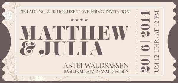 Wedding, invitation, design