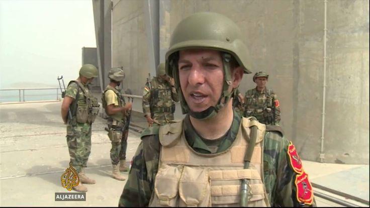 Peshmerga forces take Mosul dam in #Iraq