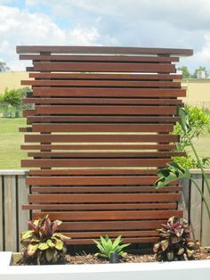 Image result for cedar privacy screen spa pool
