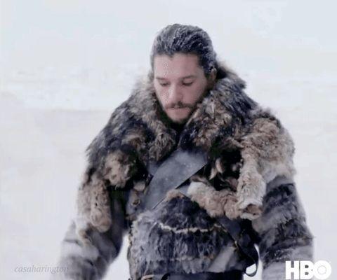 Jon Snow Season 7 HBO Love it! Nimble...