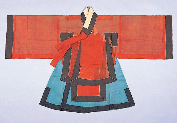 조복(朝服)  Jobok(Ceremonial Court Outfit with Gold Coronet)