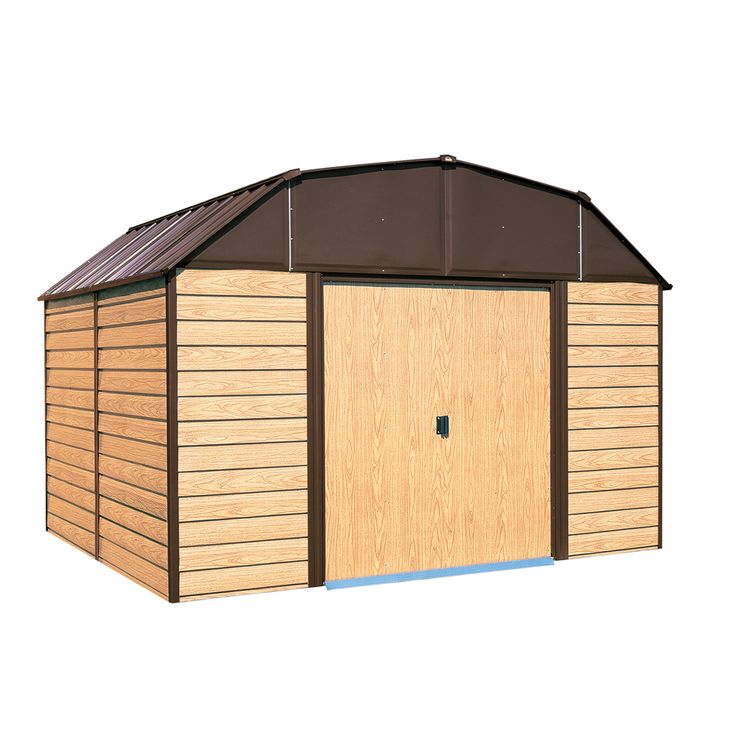 shop arrow galvanized steel storage shed common 10 ft x 14 ft