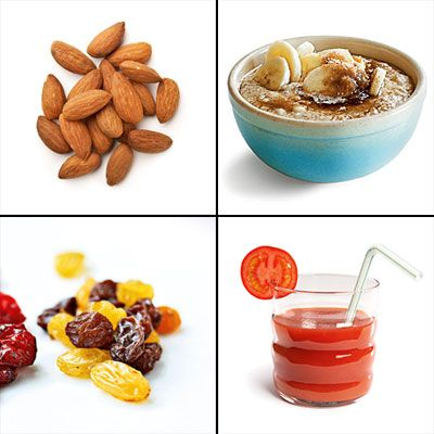 10 Best Foods and Drinks for Exercising - what to eat and drink before, during and after exercise!