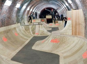 There's something very cool about skateparks…