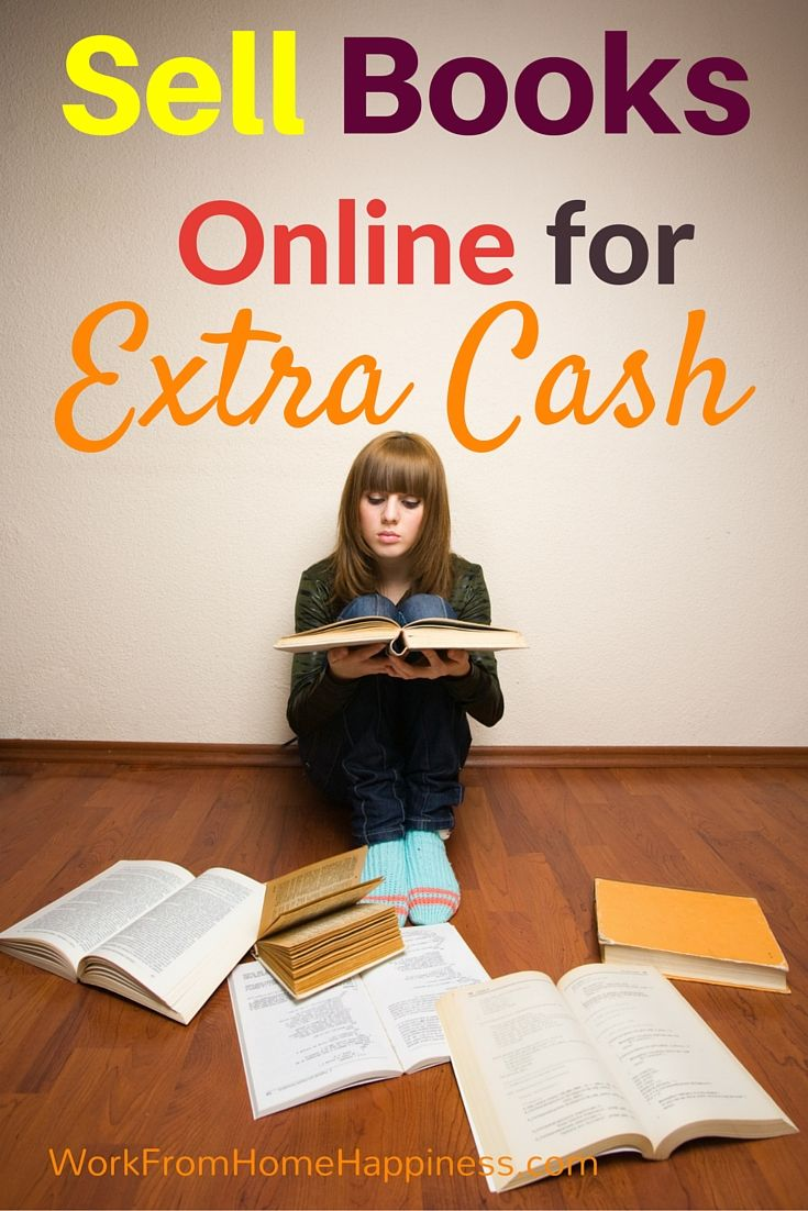 Sell your books online for extra cash each month. Turn a love of books into a money-making hobby when you sells books online!