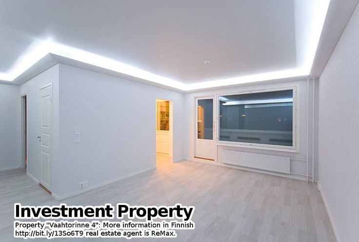 """Property """"Vaahtorinne 4"""": More information in Finnish bit.ly/13So6T9 real estate agent is ReMax."""