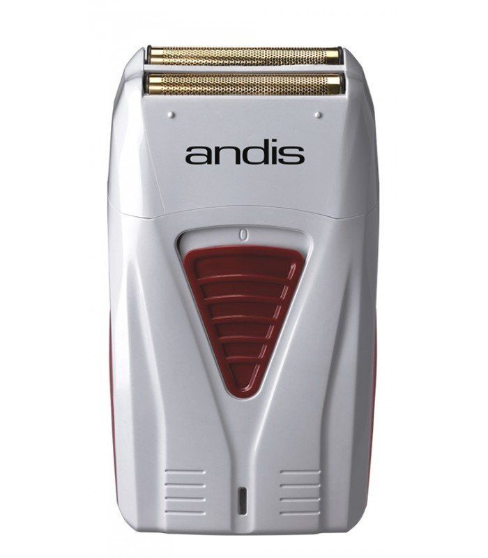 $66.95  ANDIS PROFOIL  This electric razor is great for the home user or professional for quick shaving. Works best for finishing fades and removing stubble.   The staggered head shaver blades make for a closer shave. Built with a rotary motor and lithium-ion power to deliver up to 80 minutes of runtime on a single charge. That's 80 minutes of client finish ups or 8, 10-minute quick shaves in the car for your commute to work. Made with gold titanium hypoallergenic foil for irritation-free…