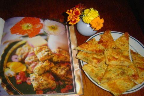 Máslová dýně: Slané řezy z máslové dýně, sýra a zeleniny. Recept od protinožců