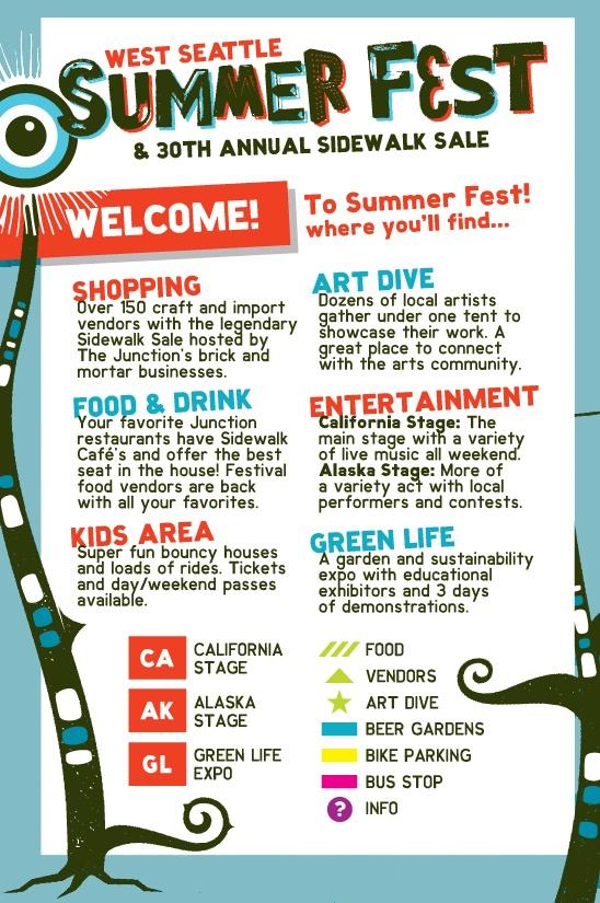 Seattle Street Fair   West Seattle Summer Fest