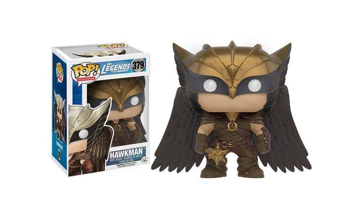 Hawkman czyli Khufu to niesamowita figurka jednego z bohaterów Legends of Tomorrow. Zbierzesz całąkolekcję? #LegendsOfTomorrow #Funko