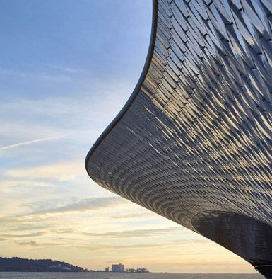MAAT by Amanda Levete Architects in Lisbon, Portugal