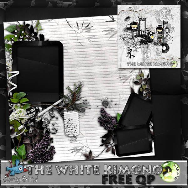 The White Kimono  QP by Marie