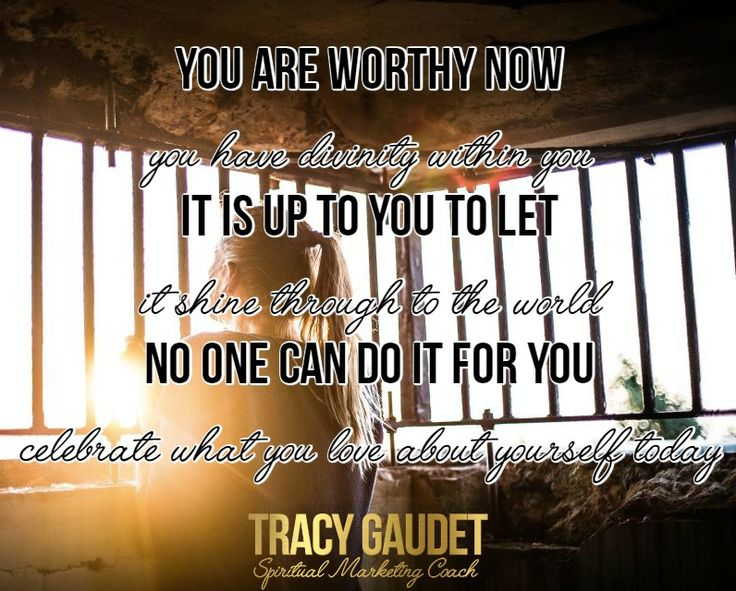 My message today is all about self-worth (one of my favorite topics!) When you shrink your self-worth you put yourself inside this limiting cage, and it doesn't feel good! You can still see amazing things happening for others, but without owning your true value it can be tricky to get there yourself. http://tracygaudet.com/