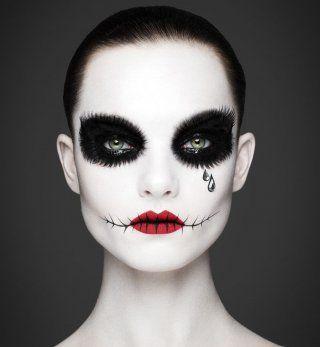 Maquillage+d'Halloween+:+pierrot+le+clown+version+horreur                                                                                                                                                                                 Plus