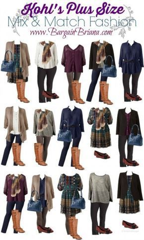 Kohls Plus Size Mix and Match Board :: Outfits die…