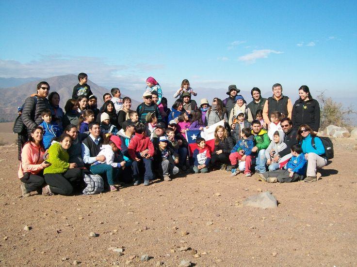 Salida  educativa  2º basico  Colegio Greenland  San Felipe, 2015