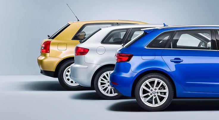 Audi A3 20 aniversario y tres generaciones de éxito - http://autoproyecto.com/2016/12/audi-a3-20-aniversario-tres-generaciones.html?utm_source=PN&utm_medium=Pinterest+AP&utm_campaign=SNAP