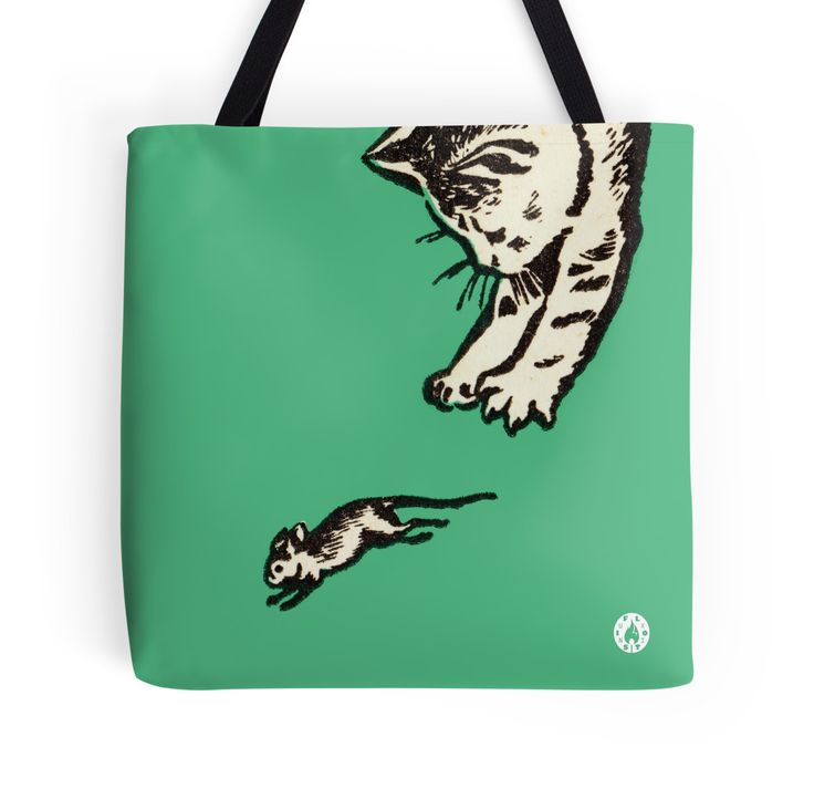 """If you play with cats, expect to be scratched"" Tote bag"