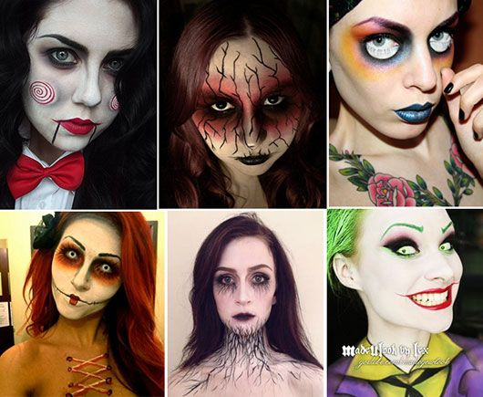 Maquiagem para Halloween - Mulheres