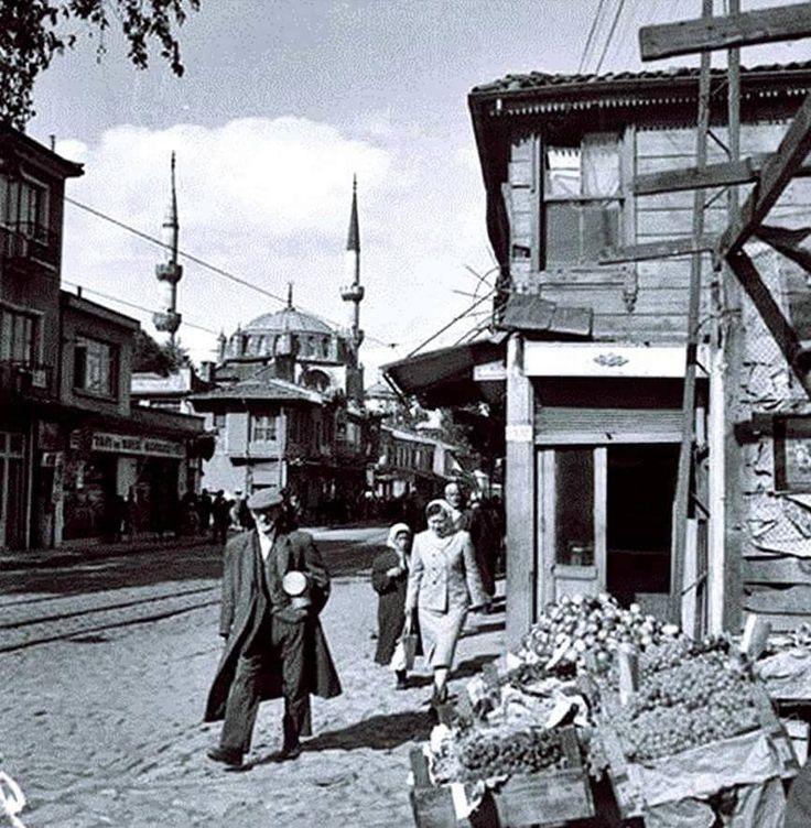 Üsküdar Ahmediye, 1950'ler.