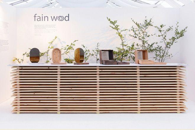 FAIN WOOD / DESIGNBLOK / 2016 / Instalation: Lenka Damová & Boris Klimek