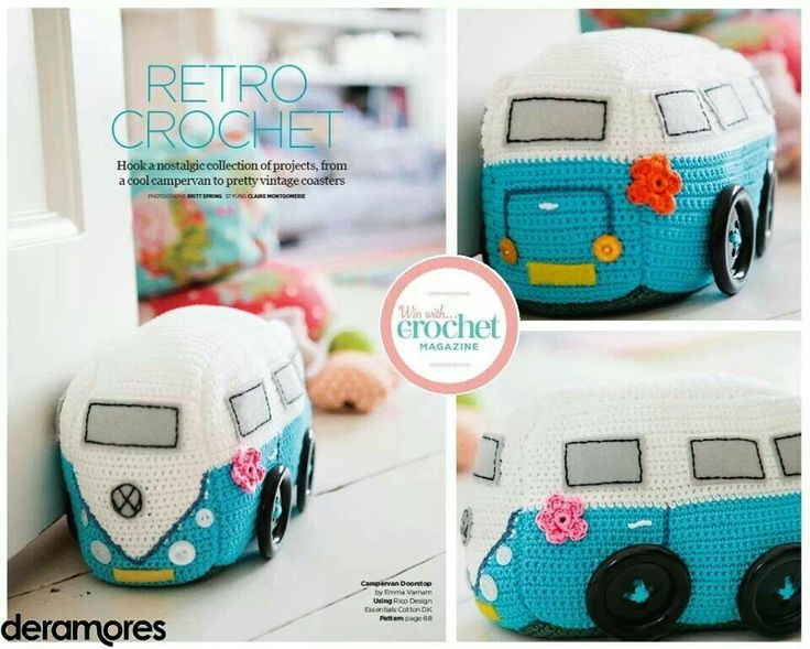 Crochet VW Campervan