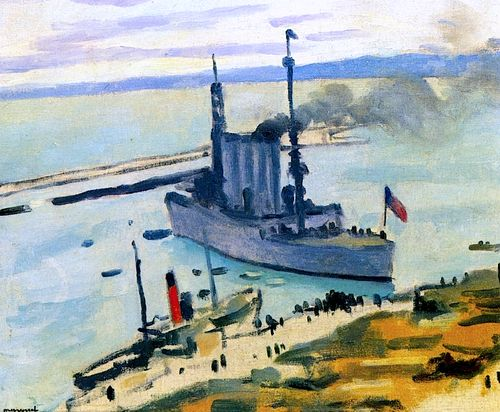 The Port of Algiers Albert Marquet - circa 1921