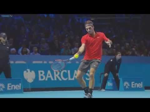 Hot shot Federer vs Raonic (video) - http://www.actusports.fr/124025/hot-shot-federer-vs-raonic-video/