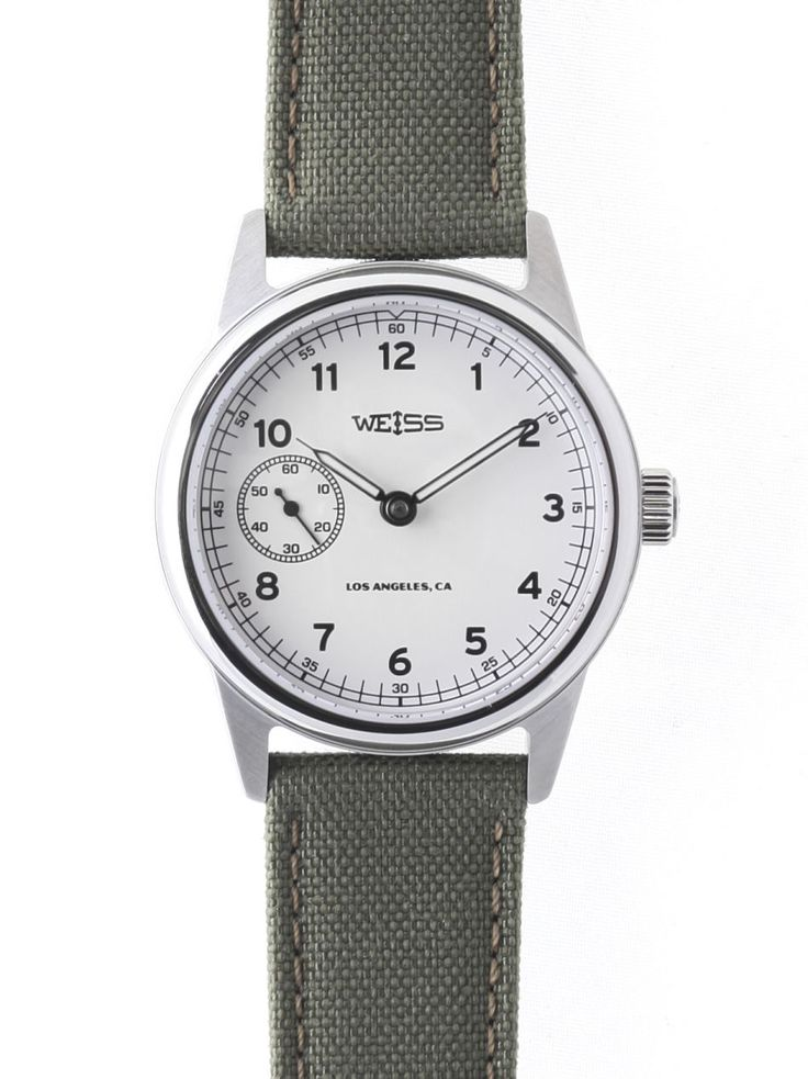 TimeZone : Industry News » N E W M o d e l - Weiss Automatic Issue Field Watch